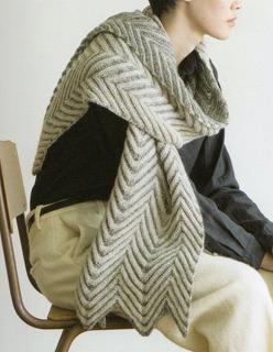スカイツリーマフラー(糸セット)