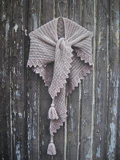 DUNLINショール用糸セット(The Bird Collection)